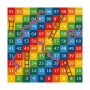 Snakes and Ladders 1-100 Solid