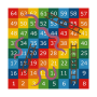 Snakes and Ladders 1-64 Solid