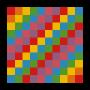 Numbers 1-100 Playground Markings Grid (Option Three)