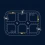 Rectangular Complete Roadway